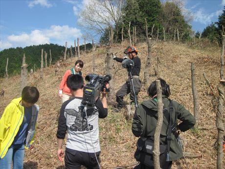 5月9日 7時30分 NHKウイークエンド関西で放映。